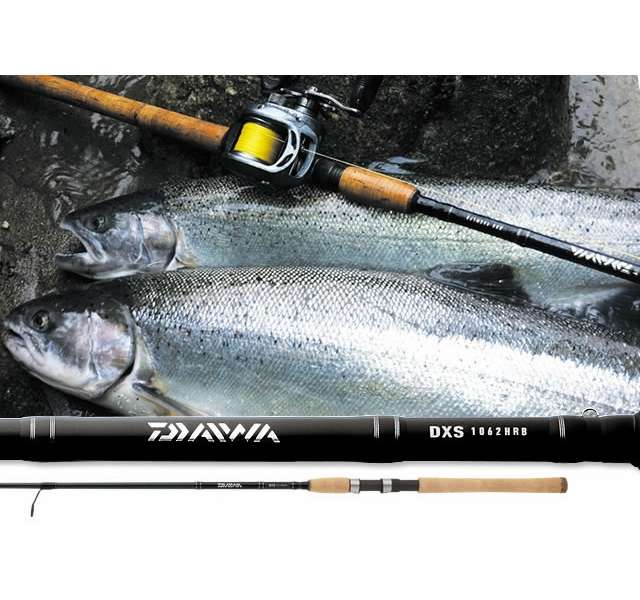 Daiwa dxs salmon steelhead spinning rods tackledirect for Best all around fishing rod