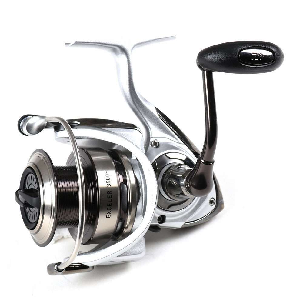 Daiwa exceler exe3500h spinning reel for Best fishing line for spinning reels