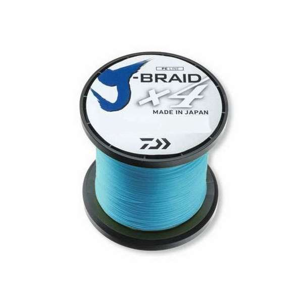 Image of Daiwa J-Braid - 3000yd Spool - 65lb - Island Blue