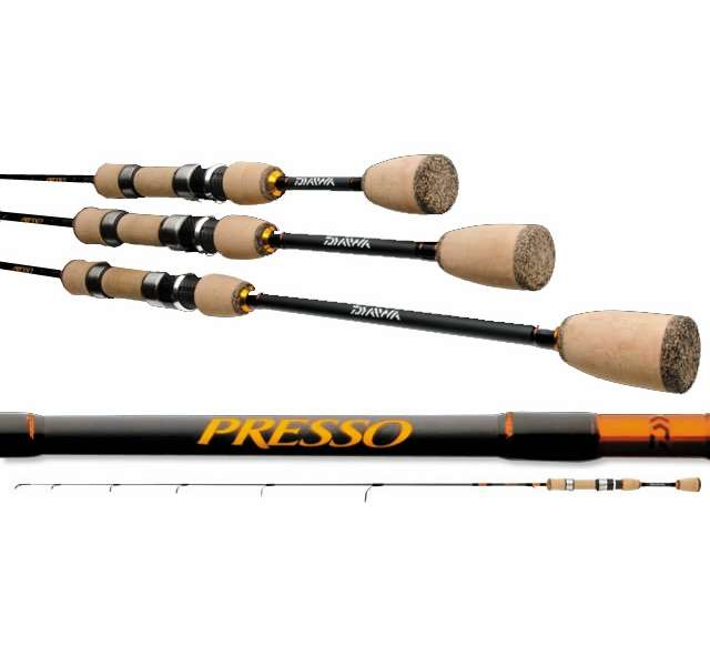 Daiwa presso ultralight spinning rods tackledirect for Best freshwater fishing rods