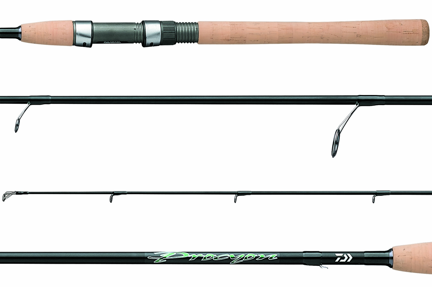 Daiwa procyon inshore spinning rods tackledirect for Offshore fishing tackle