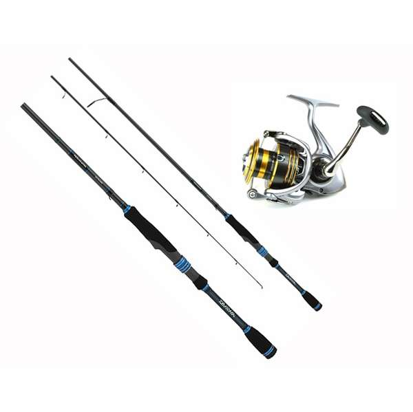 Daiwa team daiwa lexa spinning combos tackledirect for Saltwater fly fishing combo