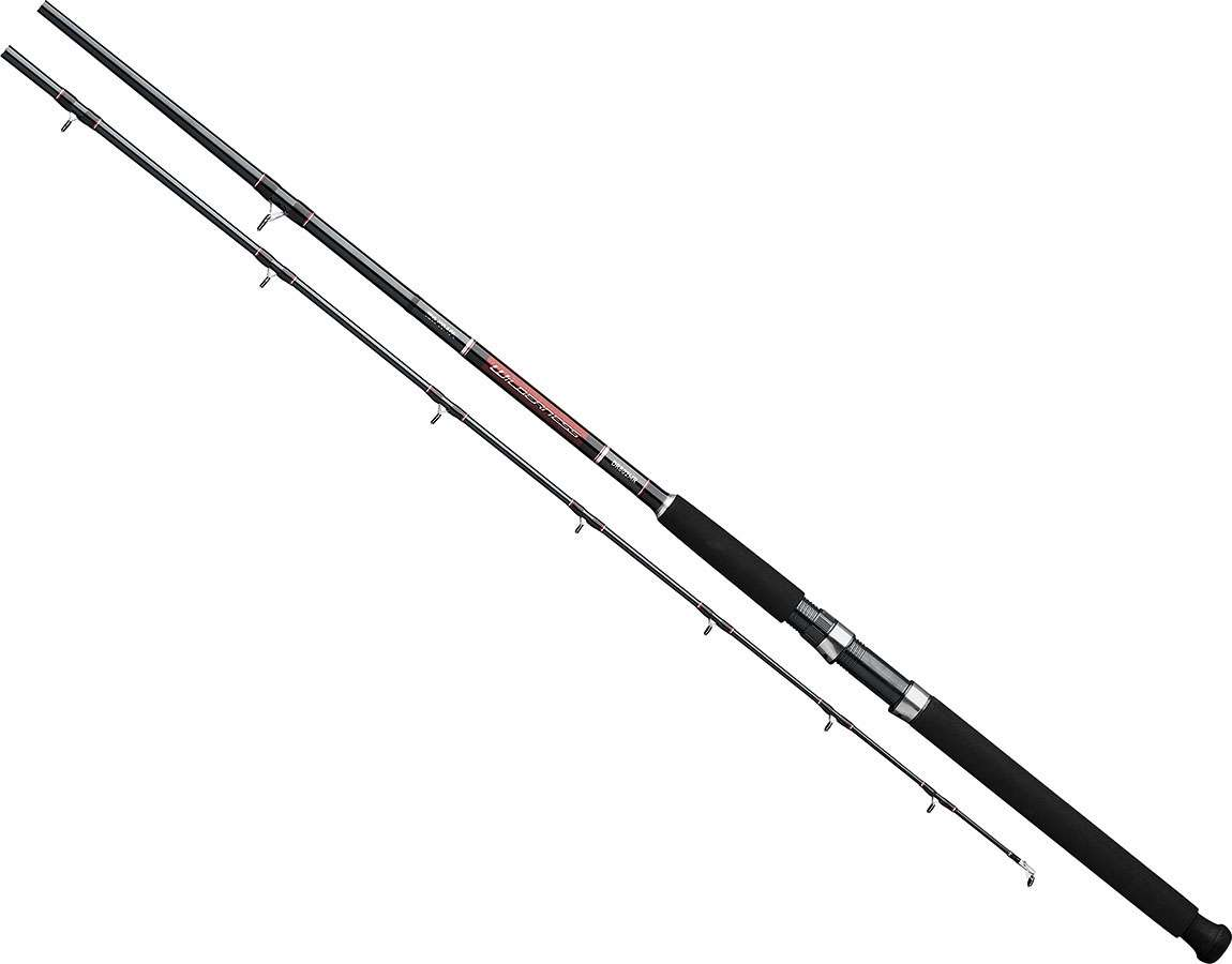 Daiwa wddr802mr wilderness downrigger trolling rod for Trolls fishing pole