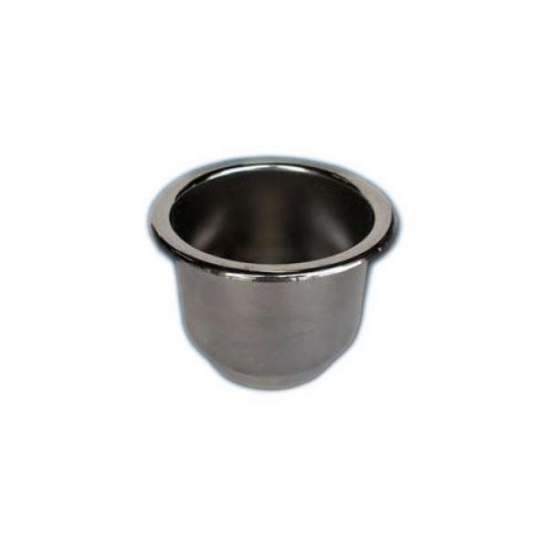 Deep Blue RC-1 Stainless Recessed Cup Holder w/ Drain DBM-0024