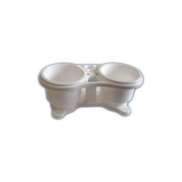 Deep Blue RC-2 Recessed Polymer Double Drink Holder DBM-0026