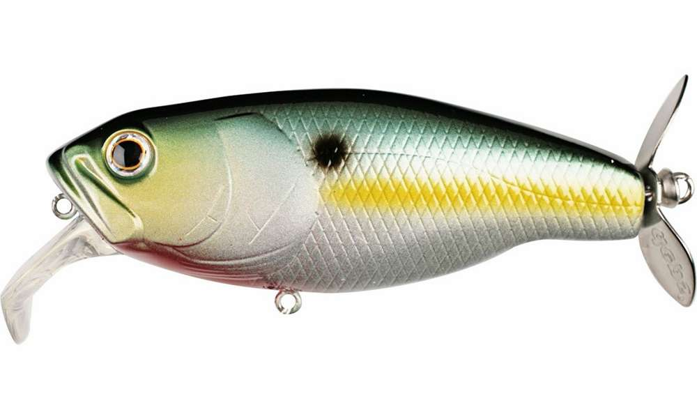 Deps Buzzjet Lure Chartreuse Sexy Shad Tackledirect