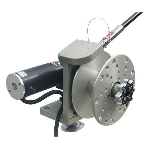 Elec tra mate brute 2000 electric reel w 10x3 spool for Electric fishing rod