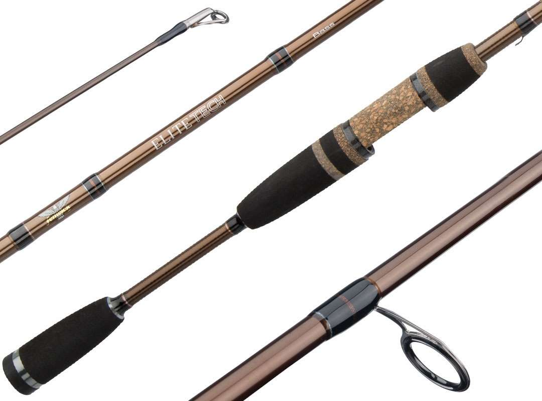 Fenwick elite tech bass spinning rods tackledirect for Bass fishing rods and reels