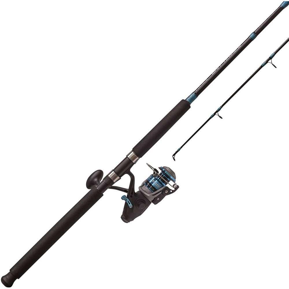 Fin nor bt60802mh bait teaser rod reel combo 8ft for Best fishing combo
