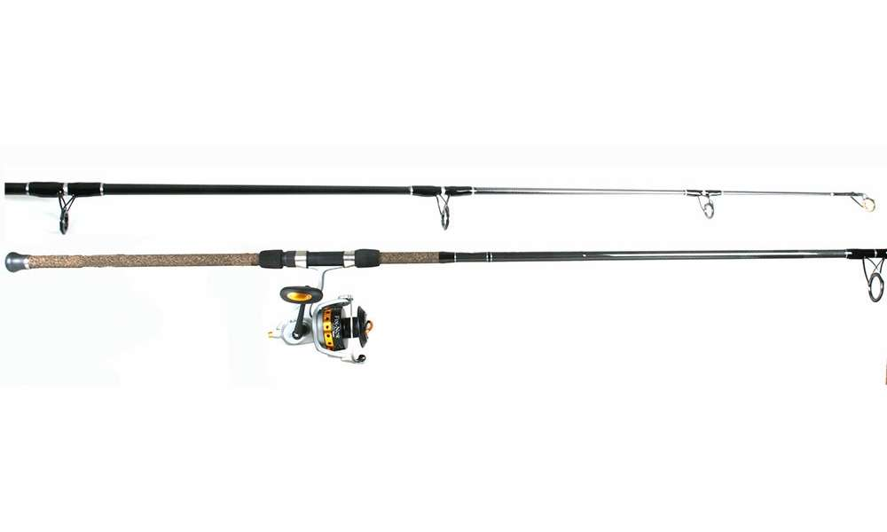 Fin nor lethal reel tsunami tstss1202h trophy combo for Best surf fishing rod and reel combo