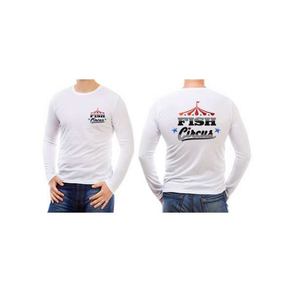 Fish circus fishing team long sleeve t shirts tackledirect for Fishing team shirts