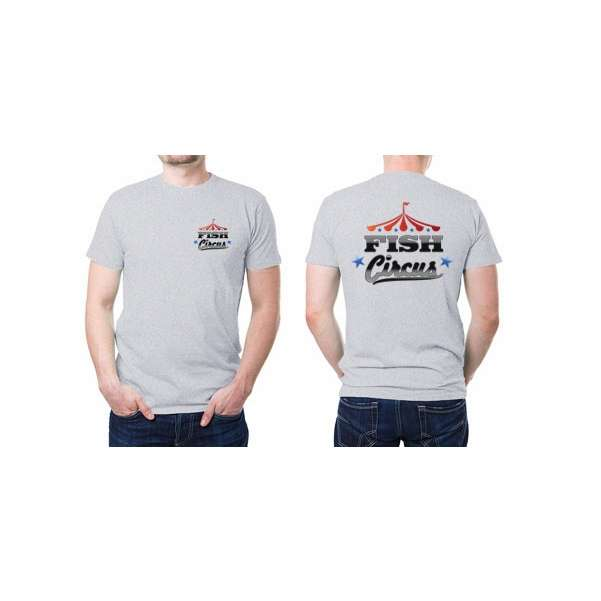Fish circus fishing team short sleeve t shirts tackledirect for Fishing team shirts