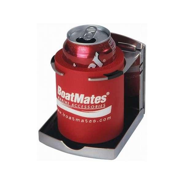 BoatMates Stainless Steel Folding Drink Holder TSS-0024