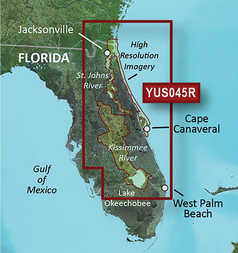 Garmin BlueChart g2 HD Florida East Coast
