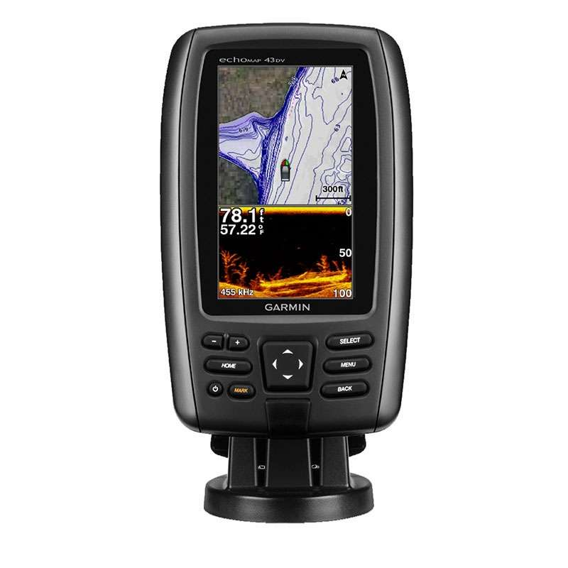 Garmin EchoMAP CHIRP Dv W US LakeVu HD Maps TackleDirect - Garmin map indonesia us