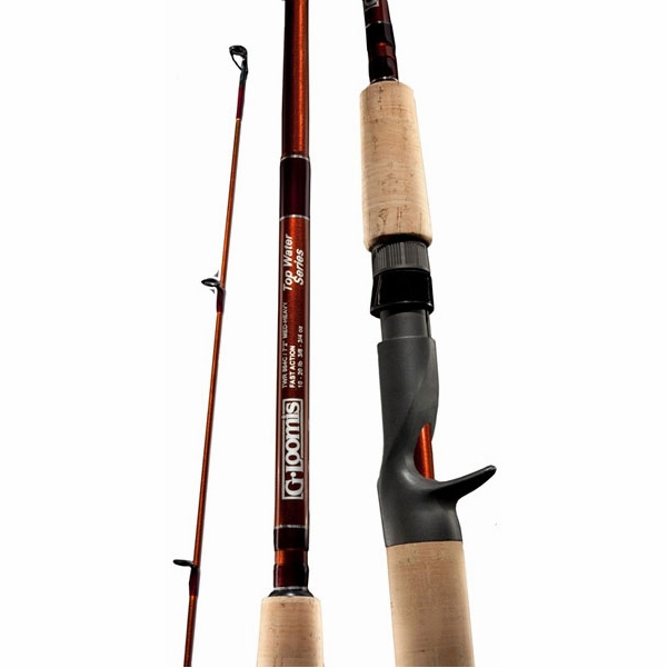 G loomis top water bass series casting rods tackledirect for Freshwater fishing rods