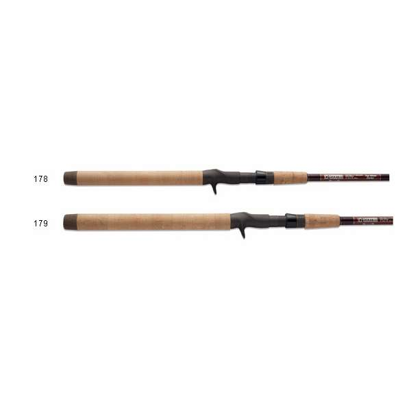 G loomis top water frog series casting rods tackledirect for Freshwater fishing rods