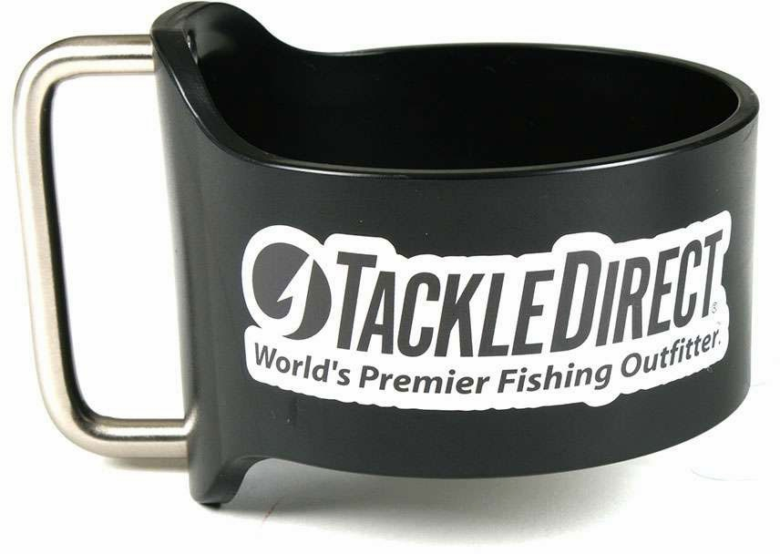 Grapplr Cup Handle for Yeti 30oz Rambler w/ TackleDirect Logo Black GRA-0001-1