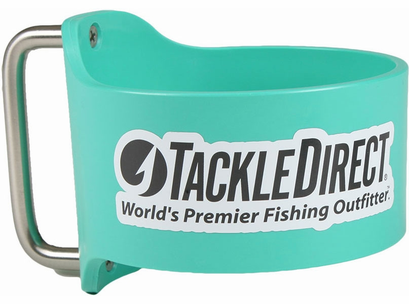 Grapplr Cup Handle f/ Yeti 30oz Rambler w/ TackleDirect Logo Seafoam GRA-0001-3