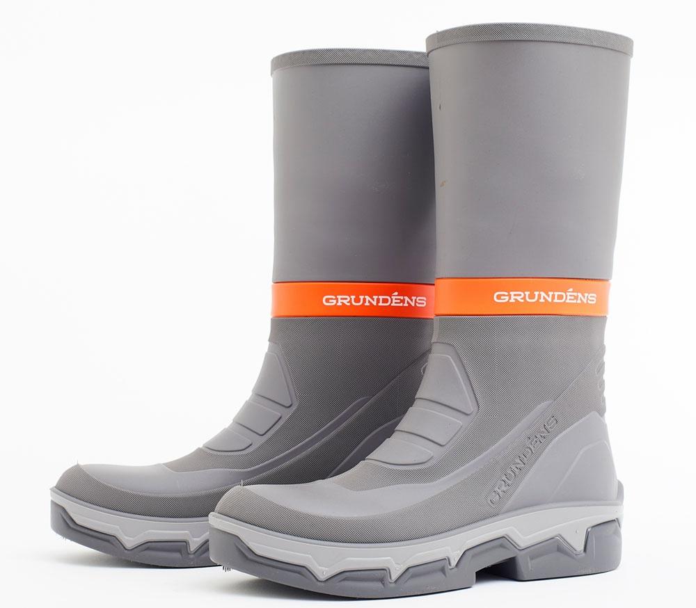 a94ed676a4e Grundens Deck Boss Boots - Grey/Orange - M12