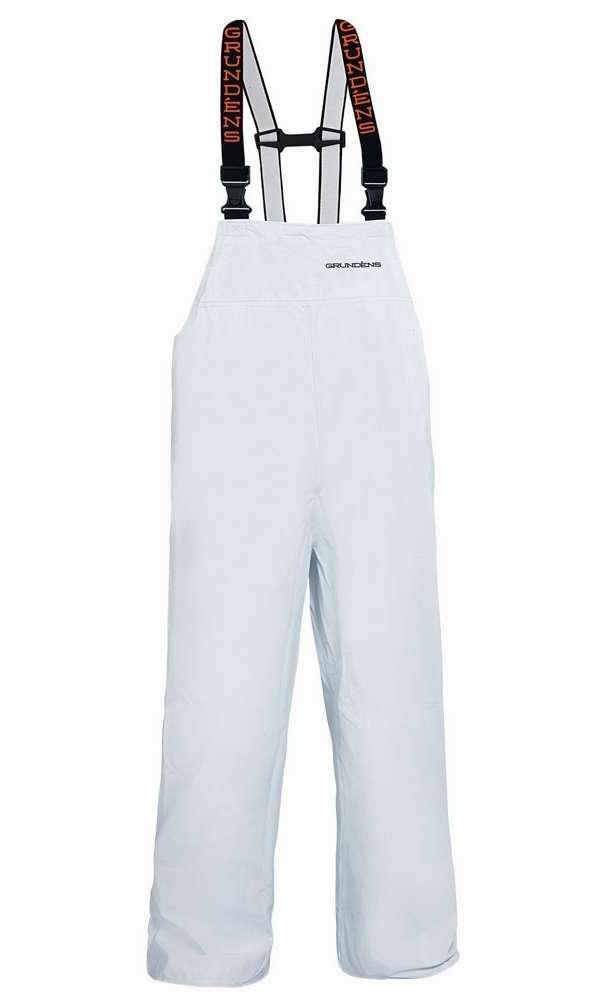 Grundens P116W Petrus 116 Bib Pant White - Small GRU-0027-6