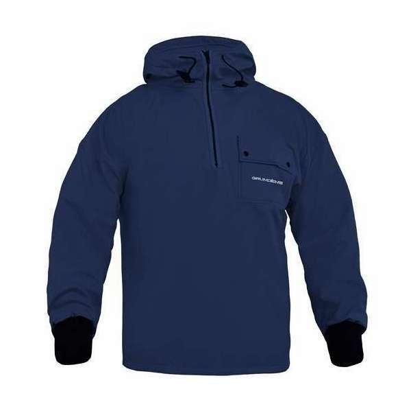 Grundens Sund 763 Hooded Pullover Navy - Size Large GRU-0184-4