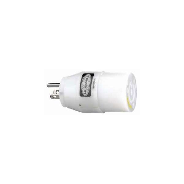 Hubbell Adapter 30A Plug/15A Outlet - 31CM28 HUB-0005