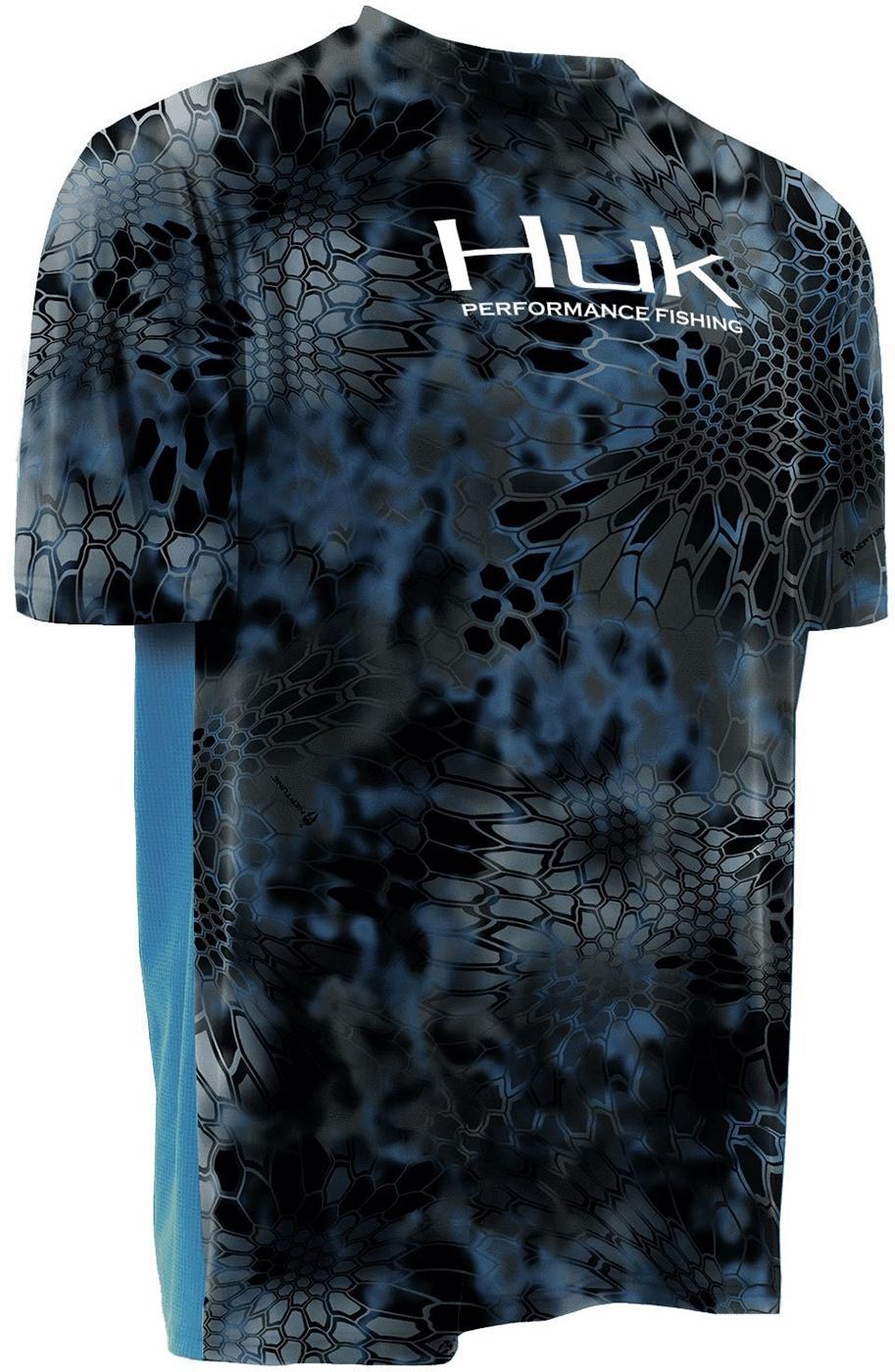 34e663515af Huk Icon Short Sleeve Shirt - Neptune - X-Large - TackleDirect