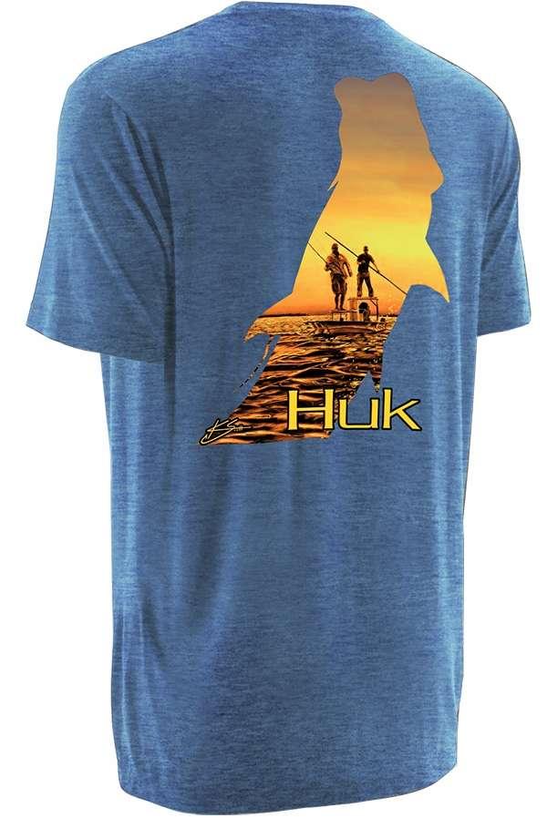 Huk performance fishing huk k scott twilight t shirts for Performance fishing gear shirts