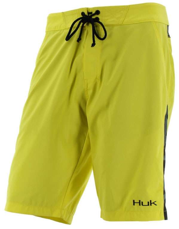 Huk performance fishing huk camo boardshorts tackledirect for Huk fishing gear