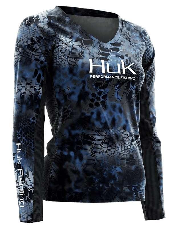 Pontus Huk Fishing Ladies Kryptek ICON Long Sleeve Shirt H1200075-PON