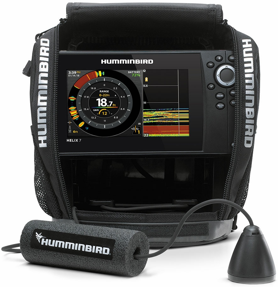 humminbird 410980 1 ice helix 7 g2 chirp combo tackledirect. Black Bedroom Furniture Sets. Home Design Ideas