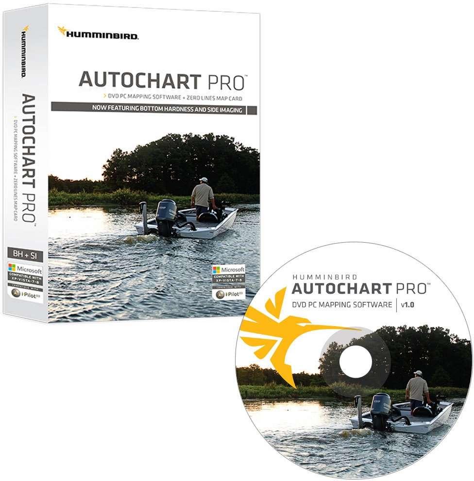 Humminbird 600032-1 AutoChart PRO DVD PC Mapping Software