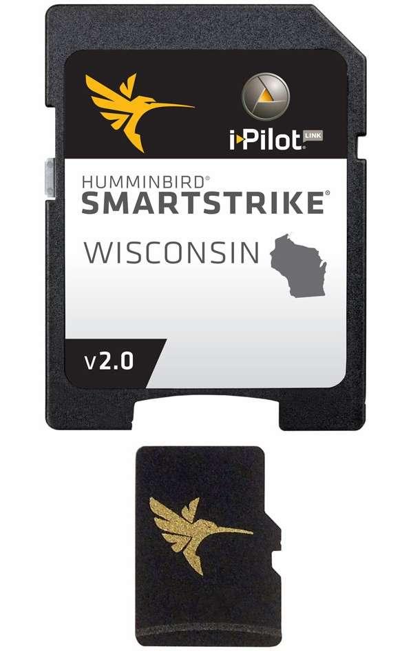Humminbird 600041-2 SmartStrike Wisconsin - MicroSD/SD