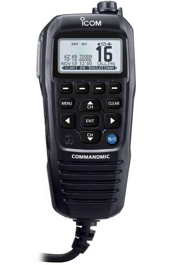 Icom COMMANDMICIV Remote-Control Microphone - Black -