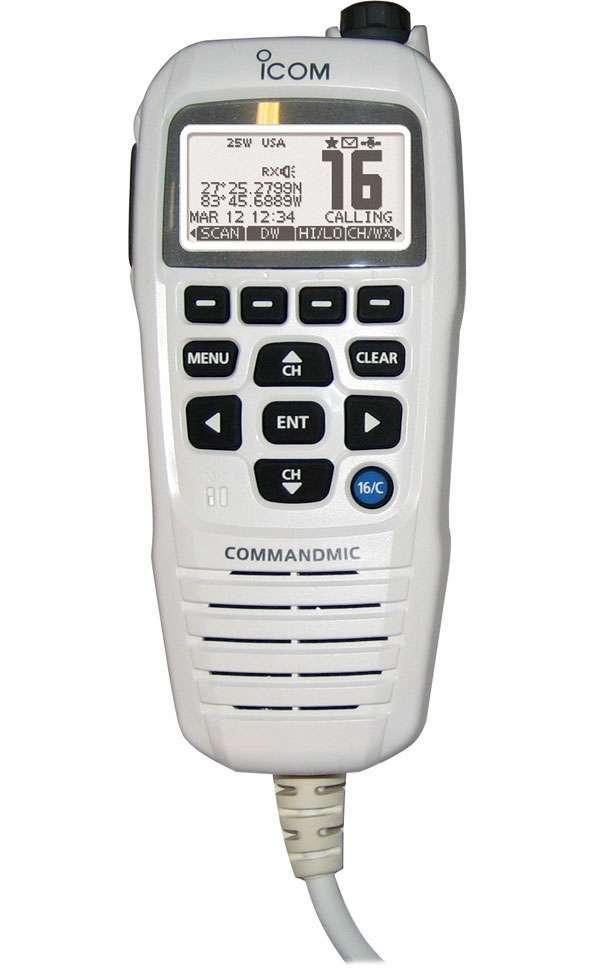 Icom HM195GW COMMANDMICIV Remote-Control Microphone - Super