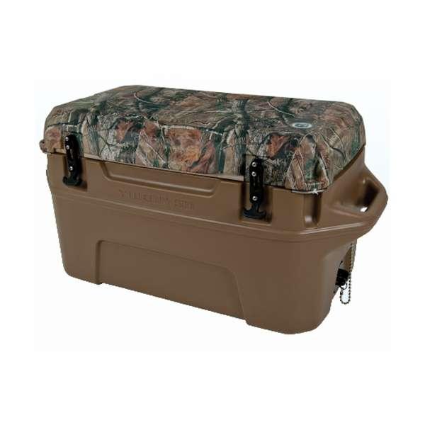 Igloo Yukon Cold Locker 50 Quart Cooler - Dark Tan/RealTree -  00044864