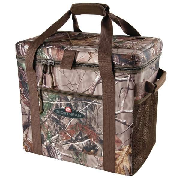 Camo Soft Cooler ~ Igloo realtree camo can square ultra soft side cooler