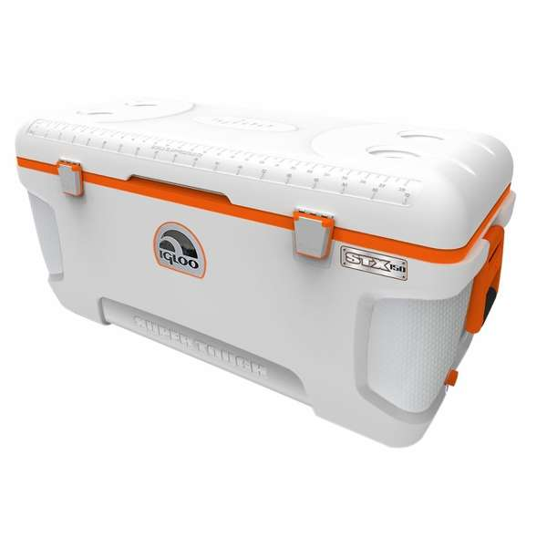 Igloo super tough stx 150 quart cooler for Fish box for boat