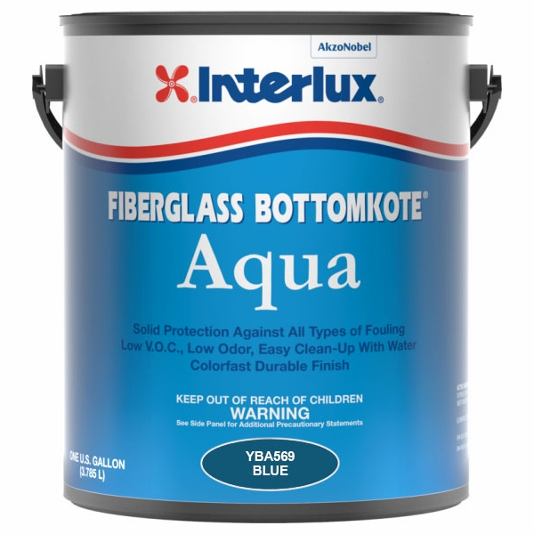 Interlux Fiberglass Bottomkote Aqua? Waterbased - Blue ITX-0009-2