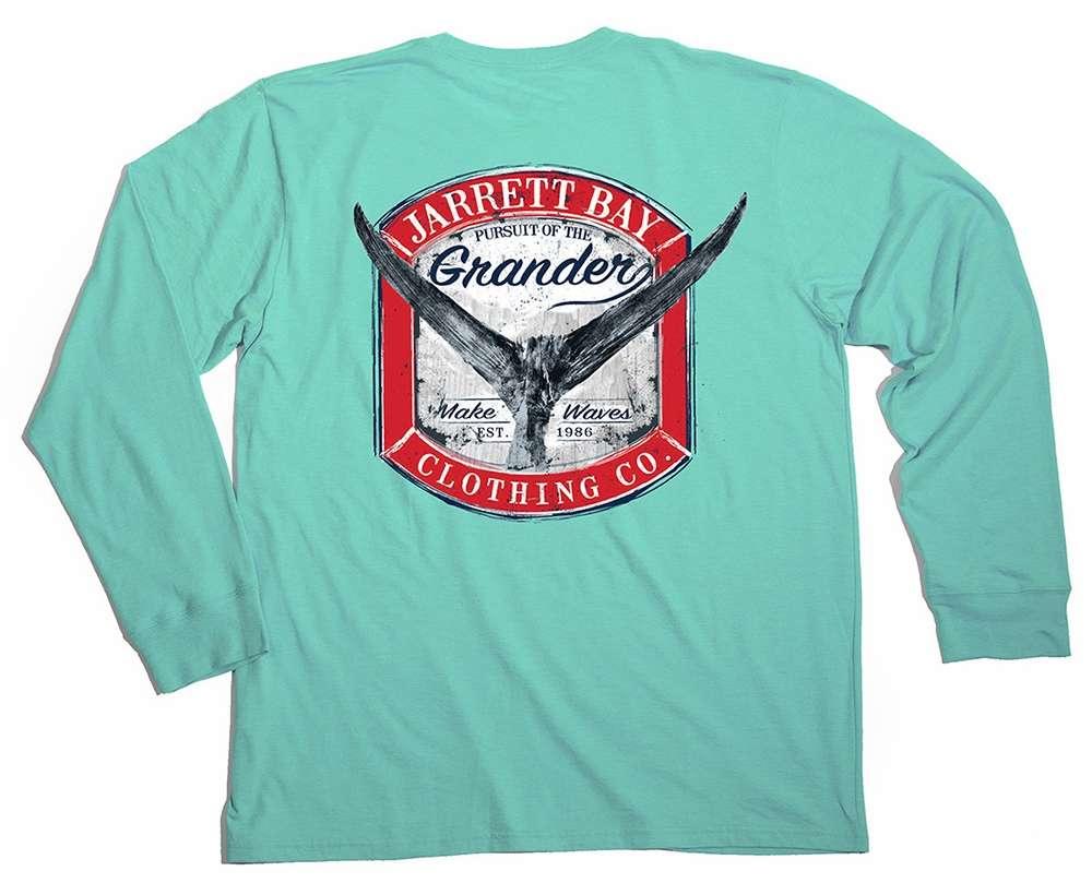 Jarrett bay grander harkers island ls shirt bh gls 3xl for Long beach ny shirts