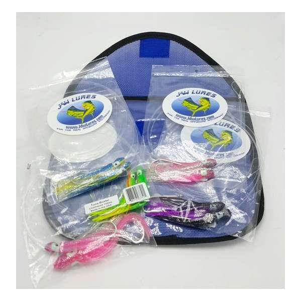 Jaw lures tuna buster combo with lure bag tackledirect for Jawbone fishing shirts