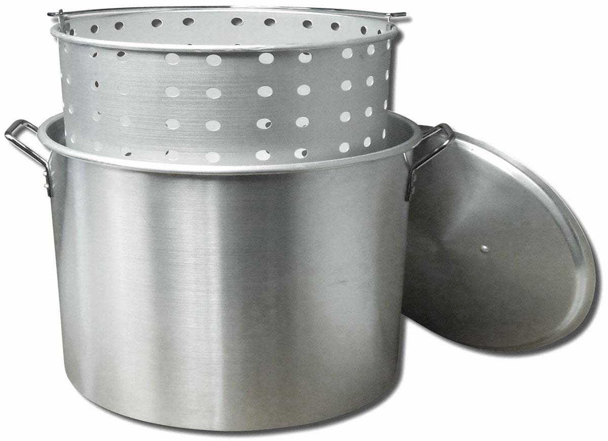 King Kooker KK160 Aluminum Boiling Pot