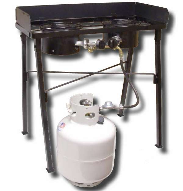 King Kooker CS33LP Low Pressure Double Burner Camp Stove KOO-0049