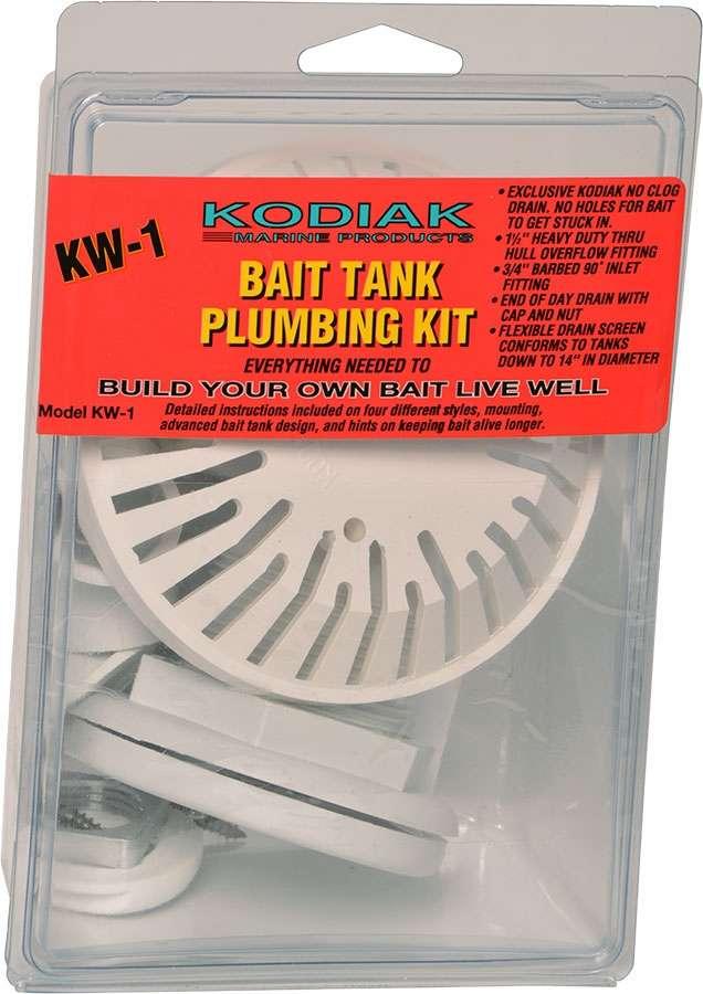 Kodiak KW1 Bait Tank Plumbing Kit TMP-0189