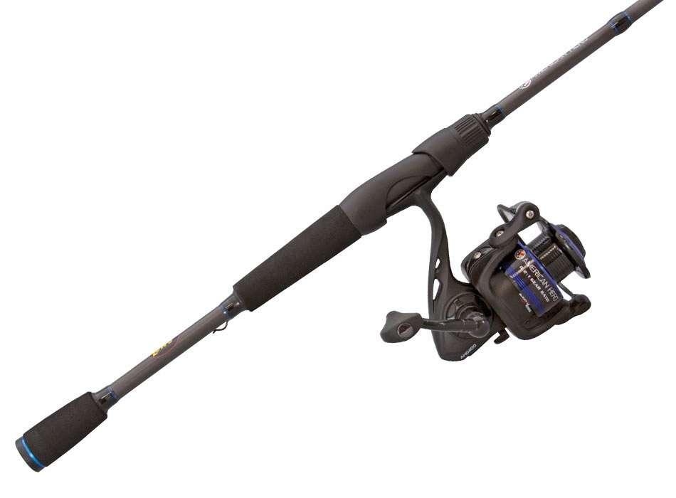 Lews ah3066m 2 american hero speed spinning combo for Lews fishing apparel