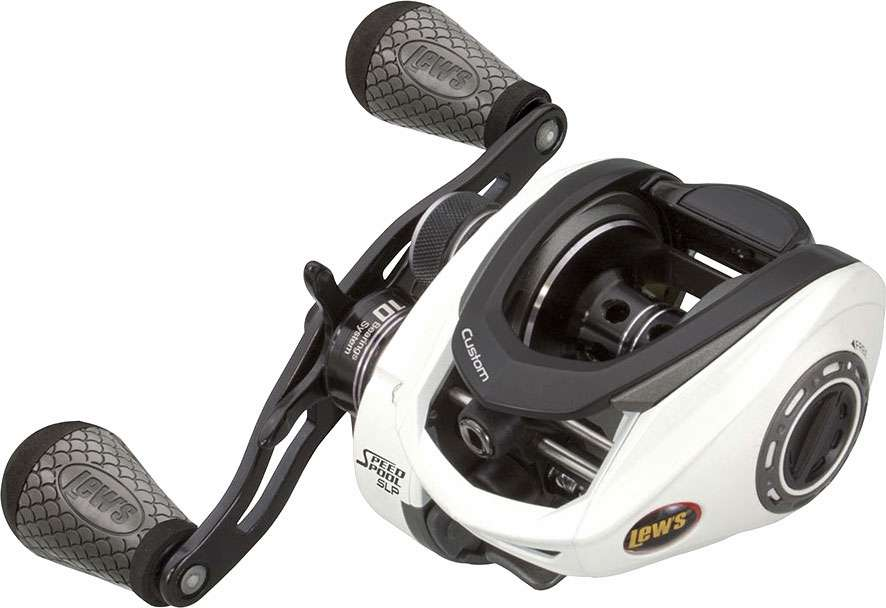 Lew 39 s custom speed spool slp baitcast reels tackledirect for Lews fishing apparel