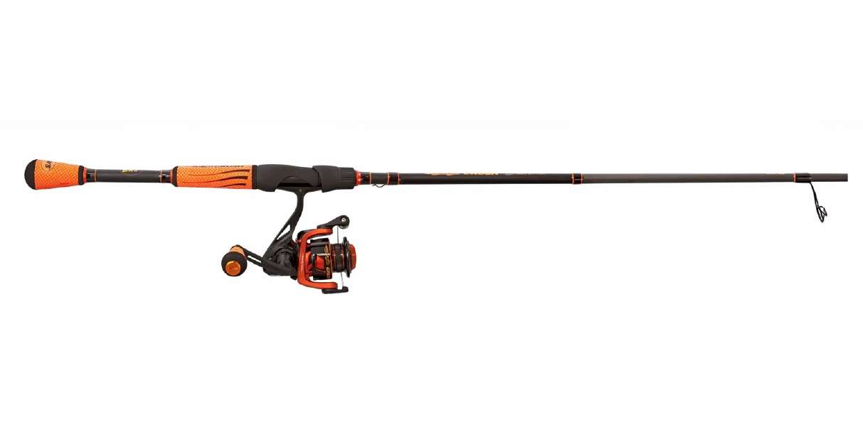 Lew 39 s mach crush speed spinning combo for Lews fishing combo