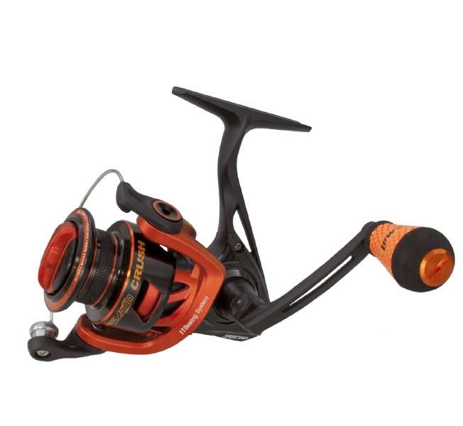 Lew 39 s mach crush speed spinning reels for Lews fishing apparel