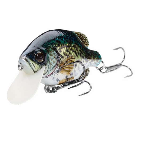 Livetarget crappie crankbait lures tackledirect for Crappie fishing tackle